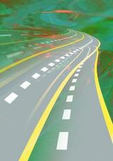 Cartoon-like-overlapping-roadways-with-green-background-small